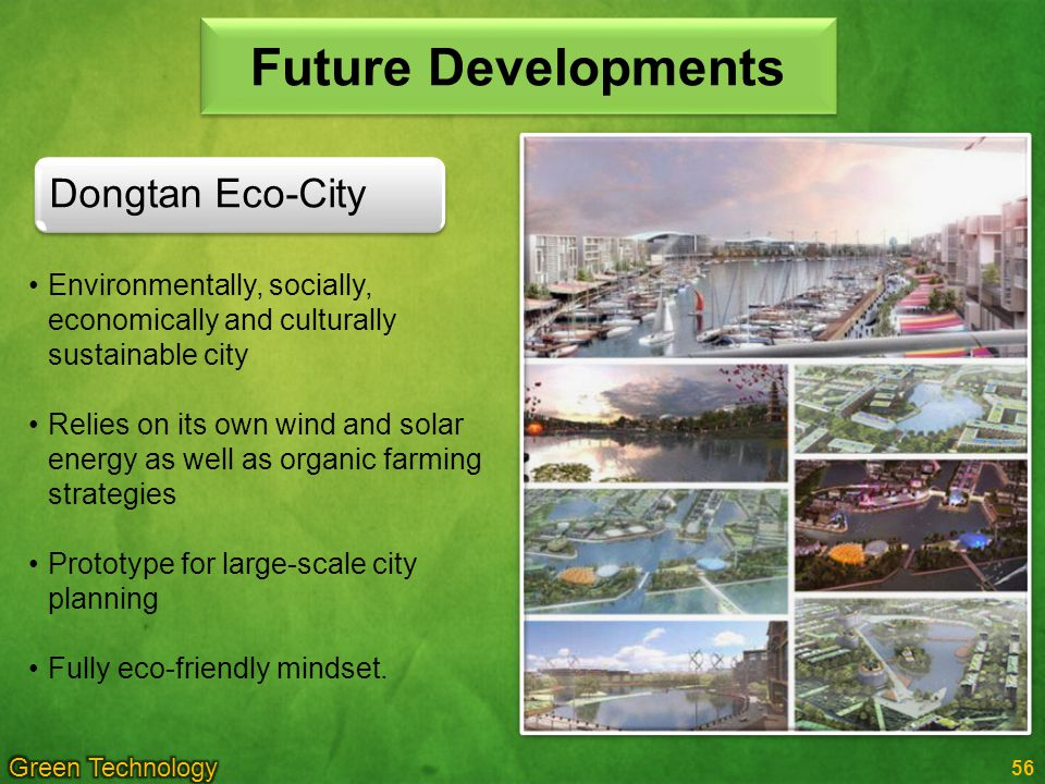 Future Developments Dongtan Eco-City