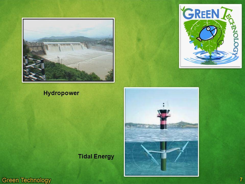 Hydropower Tidal Energy