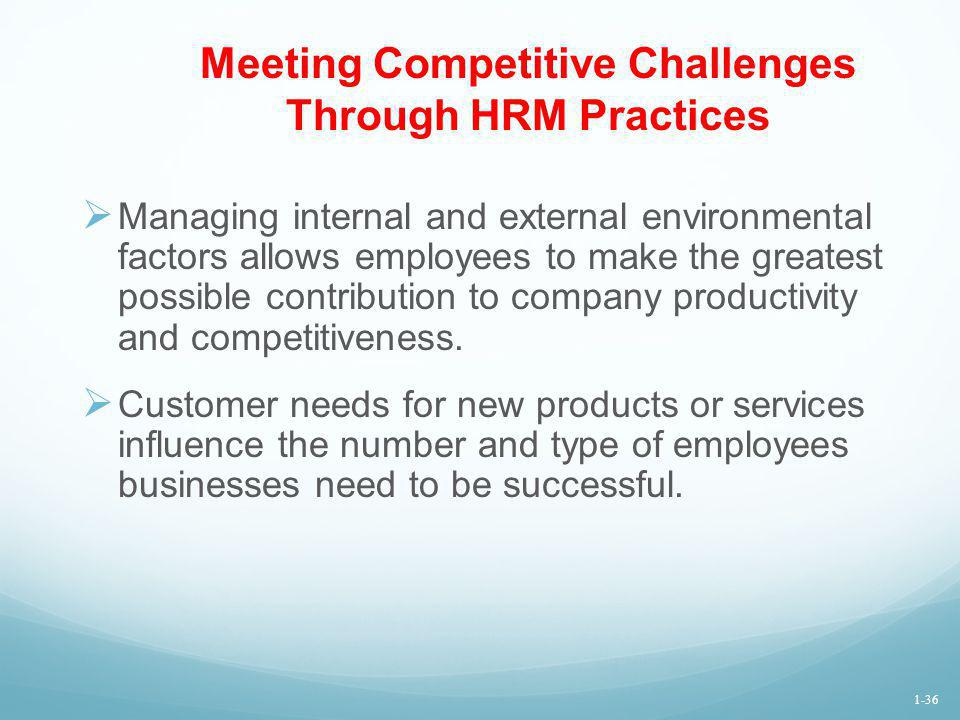 the application of human resource management to gain competitive advantage The human capital perspective, resting on the assertion that hpwps can be replicated by competitors over time (wright et al, 1994 chadwick and dabu, 2009), suggests that the kernel of sustainable competitive advantage is the human capital resources.