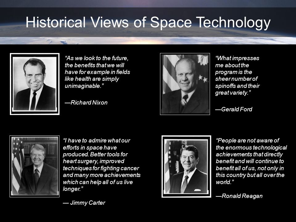 Historical Views of Space Technology