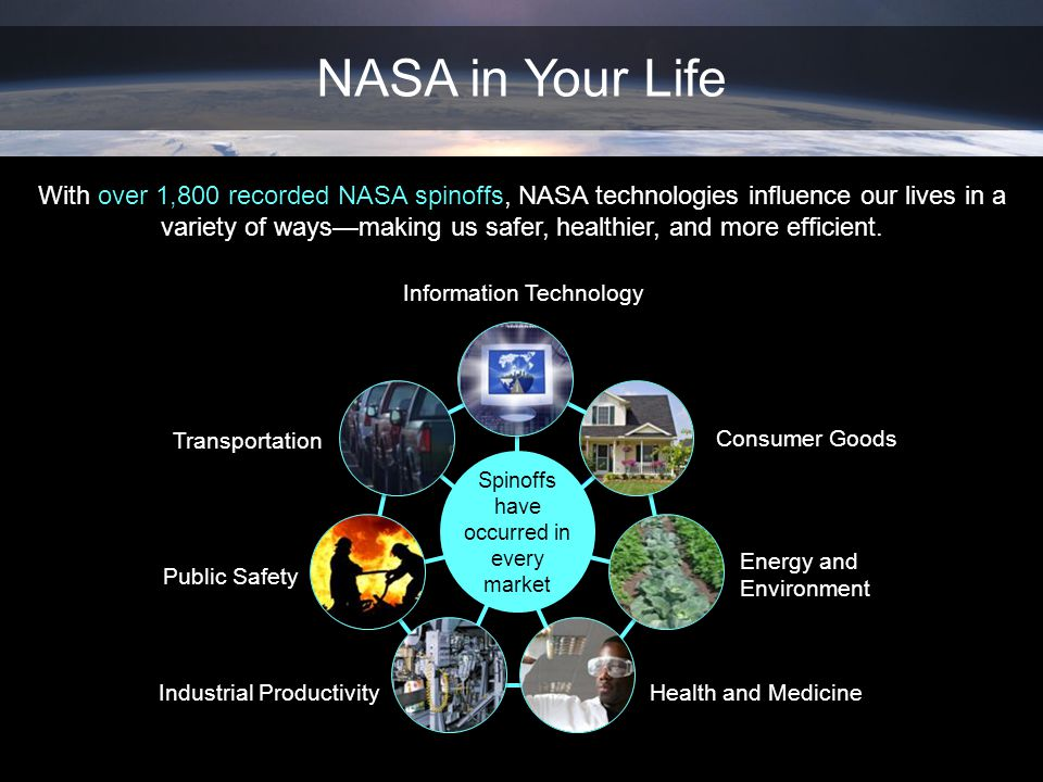 NASA in Your Life