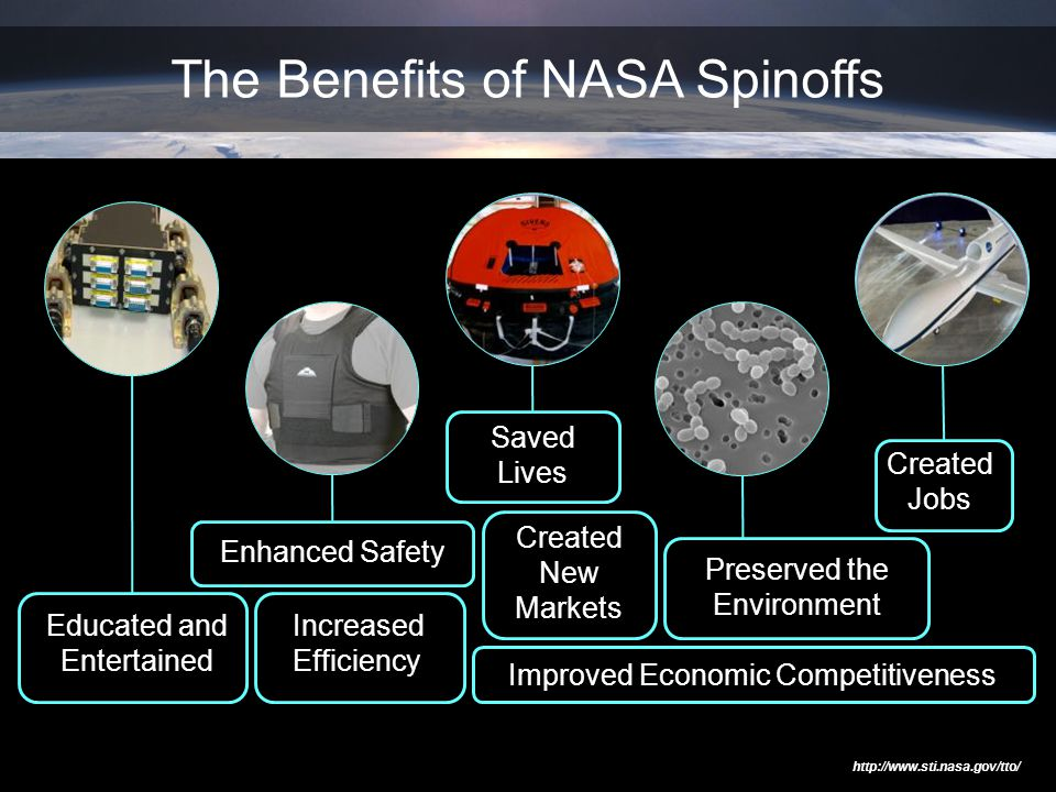 The Benefits of NASA Spinoffs