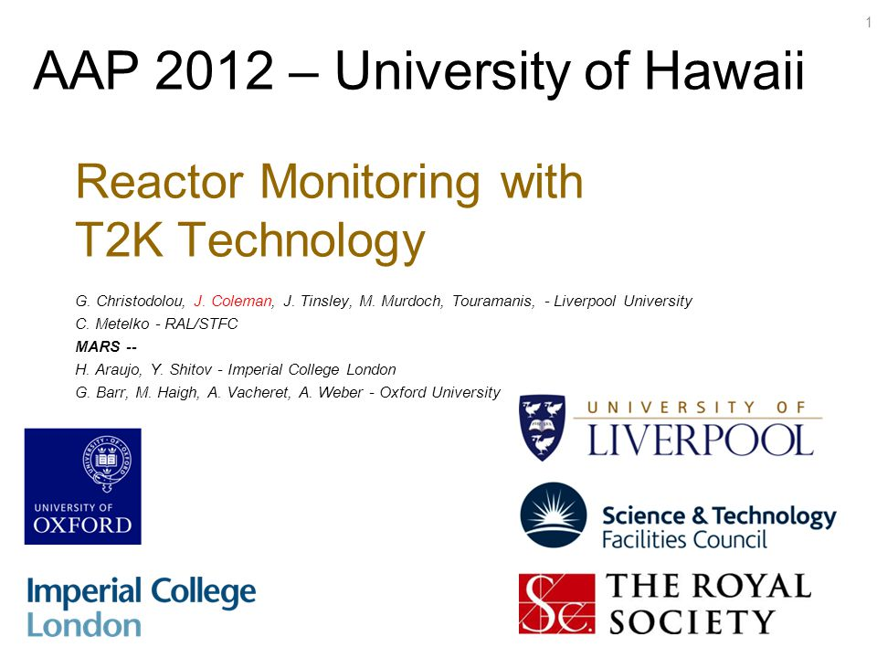 Reactor Monitoring with T2K Technology