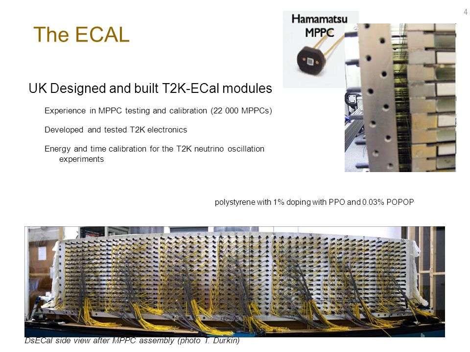The ECAL UK Designed and built T2K-ECal modules
