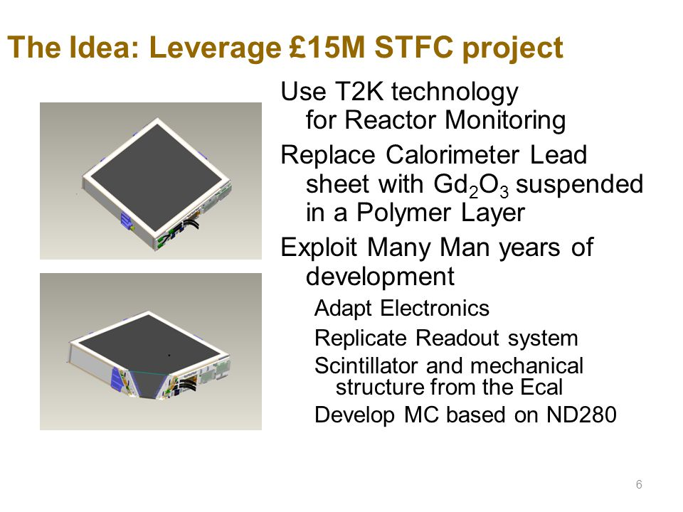The Idea: Leverage £15M STFC project