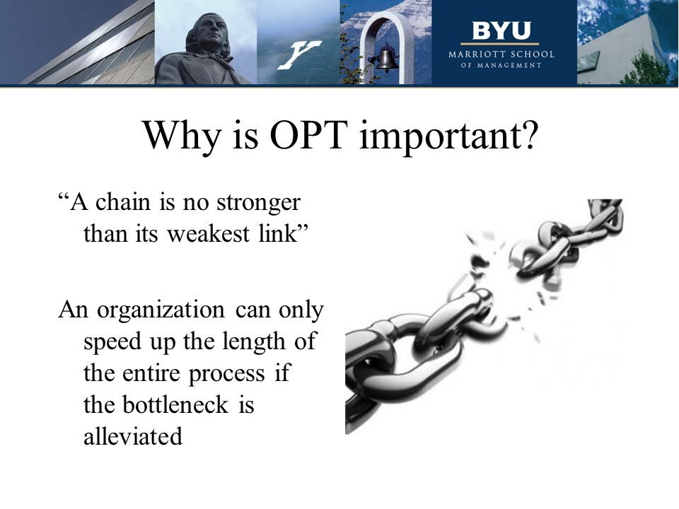 Why is OPT important