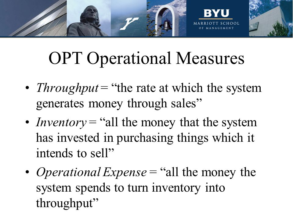 OPT Operational Measures