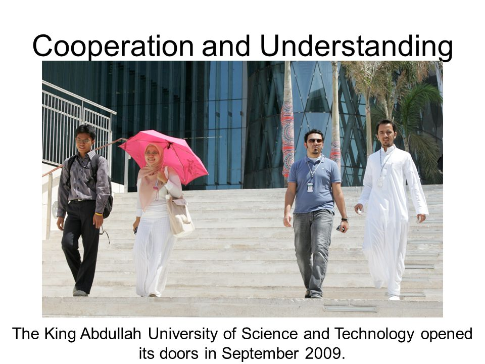 Cooperation and Understanding