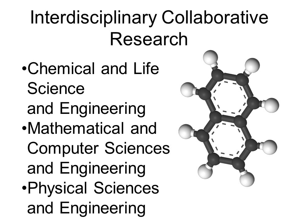 Interdisciplinary Collaborative Research