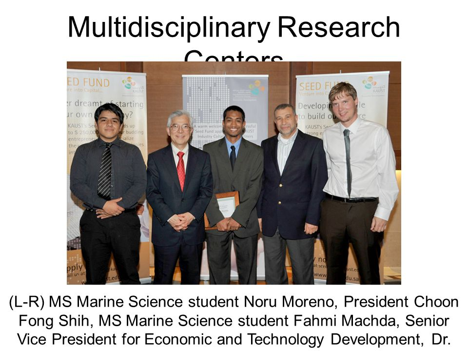 Multidisciplinary Research Centers