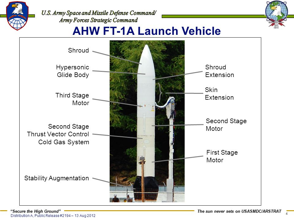 AHW FT-1A Launch Vehicle