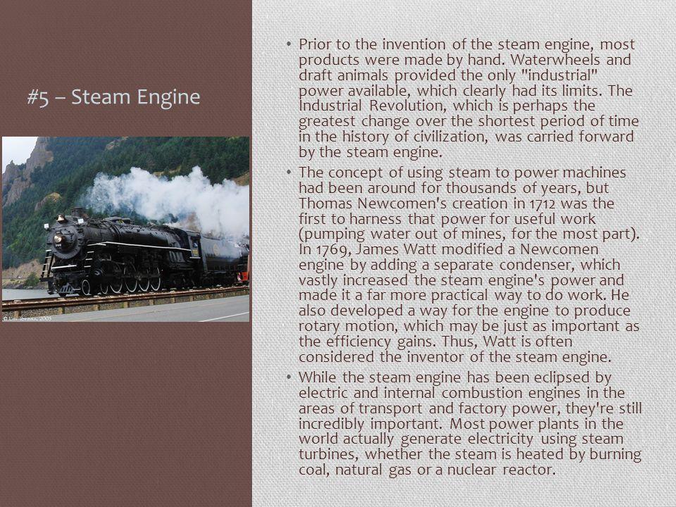 #5 – Steam Engine