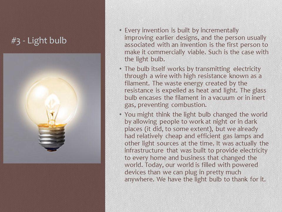 #3 - Light bulb