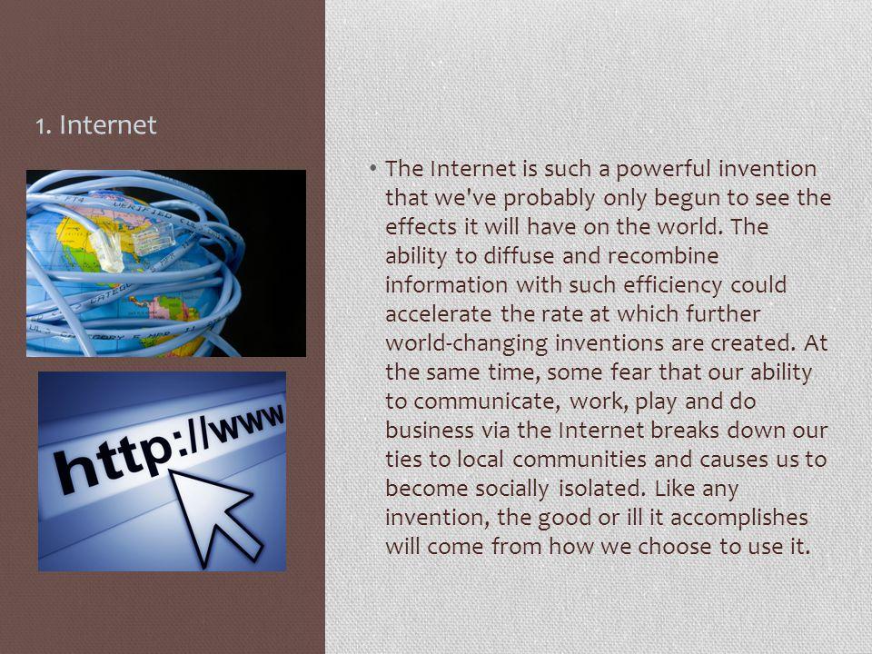 1. Internet