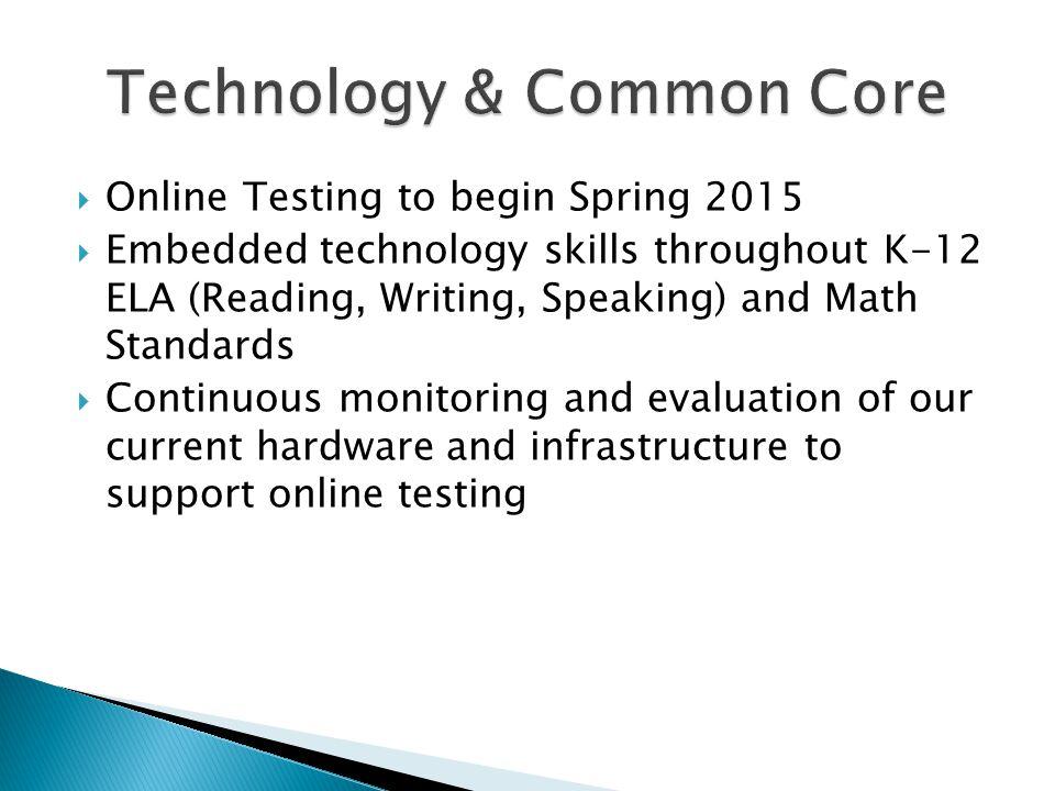 Technology & Common Core