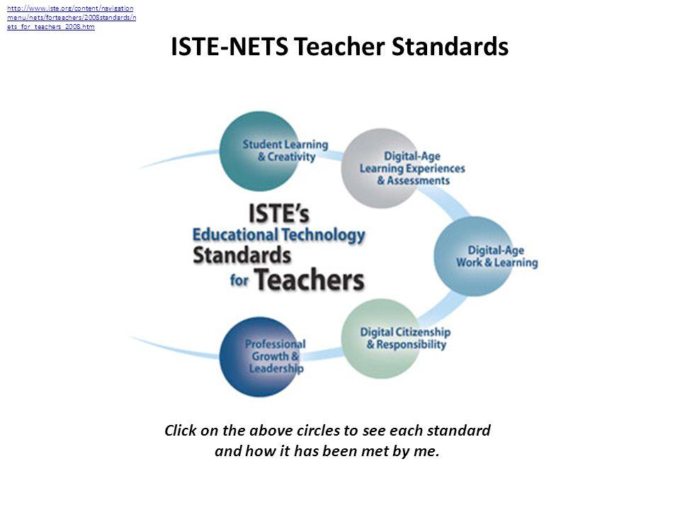 ISTE-NETS Teacher Standards