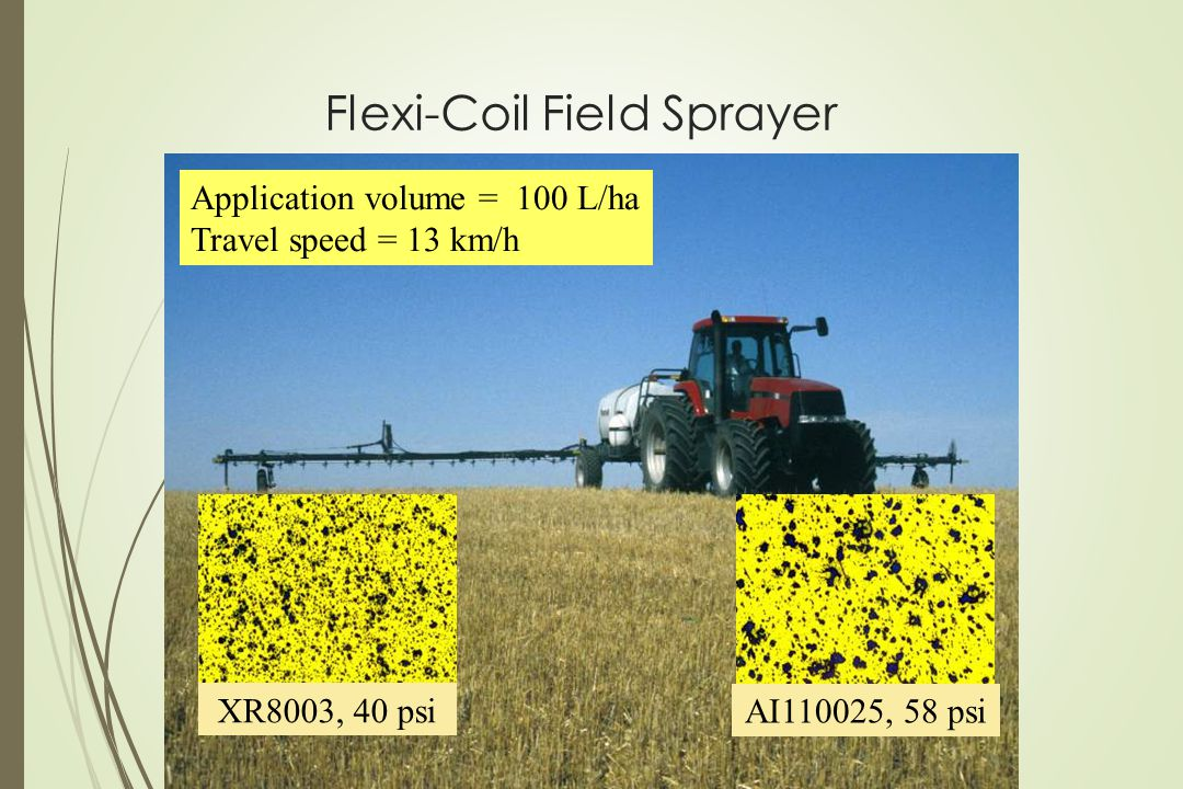 Flexi-Coil Field Sprayer