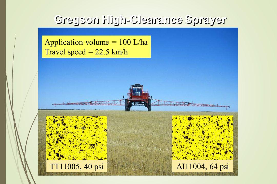 Gregson High-Clearance Sprayer