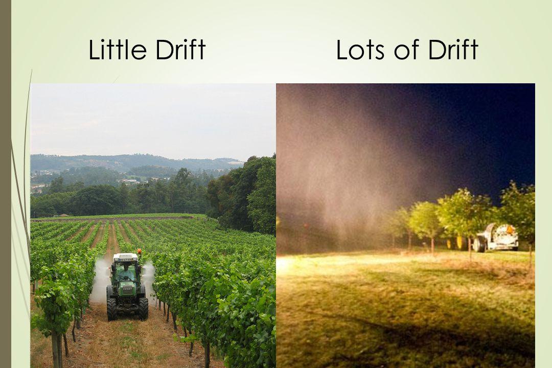 Little Drift Lots of Drift