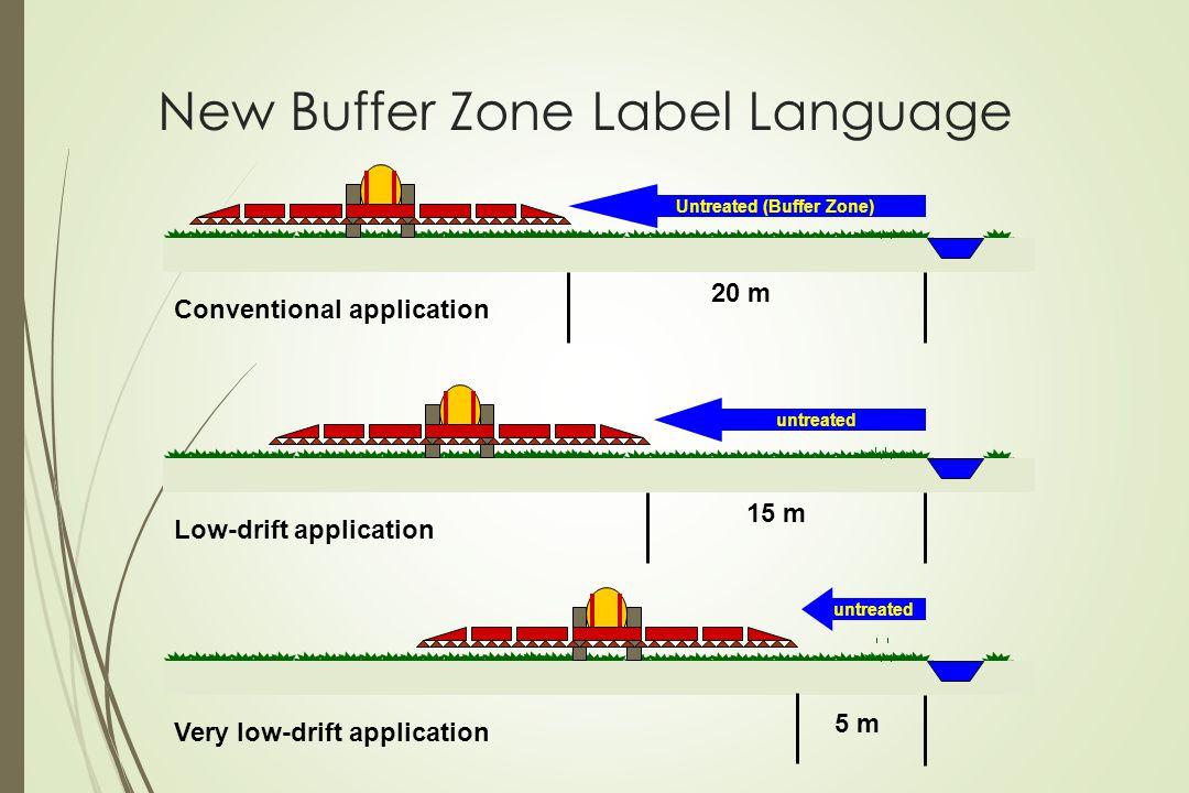 New Buffer Zone Label Language