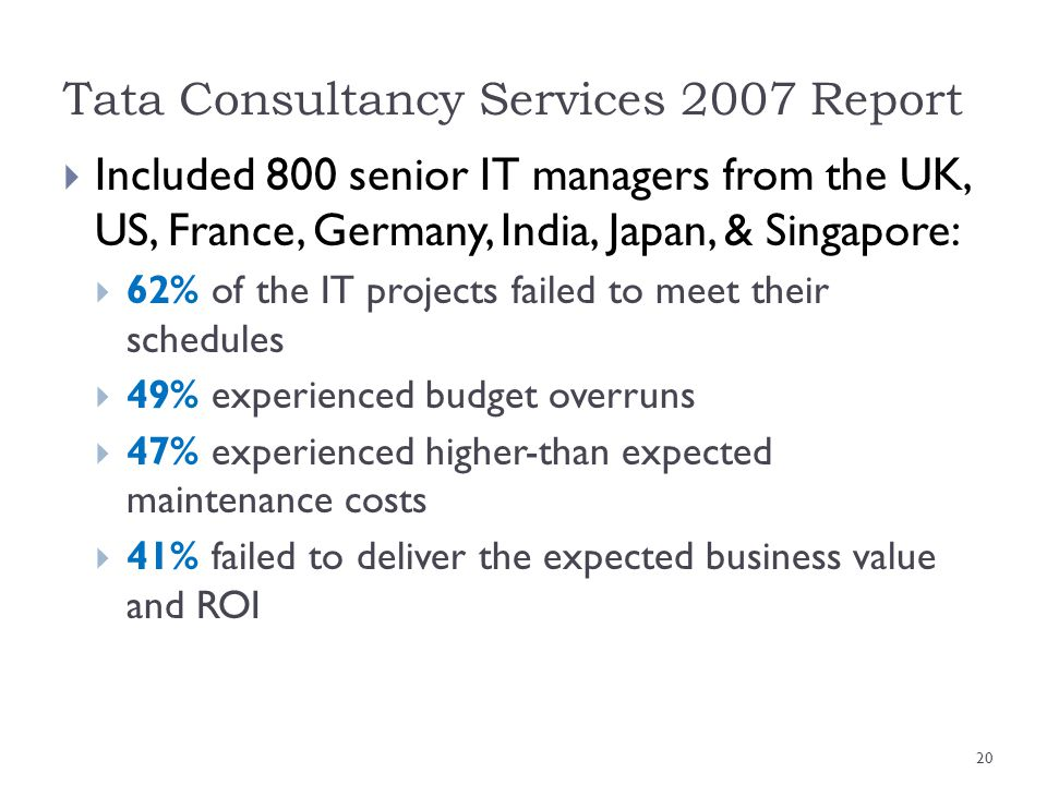 Tata Consultancy Services 2007 Report