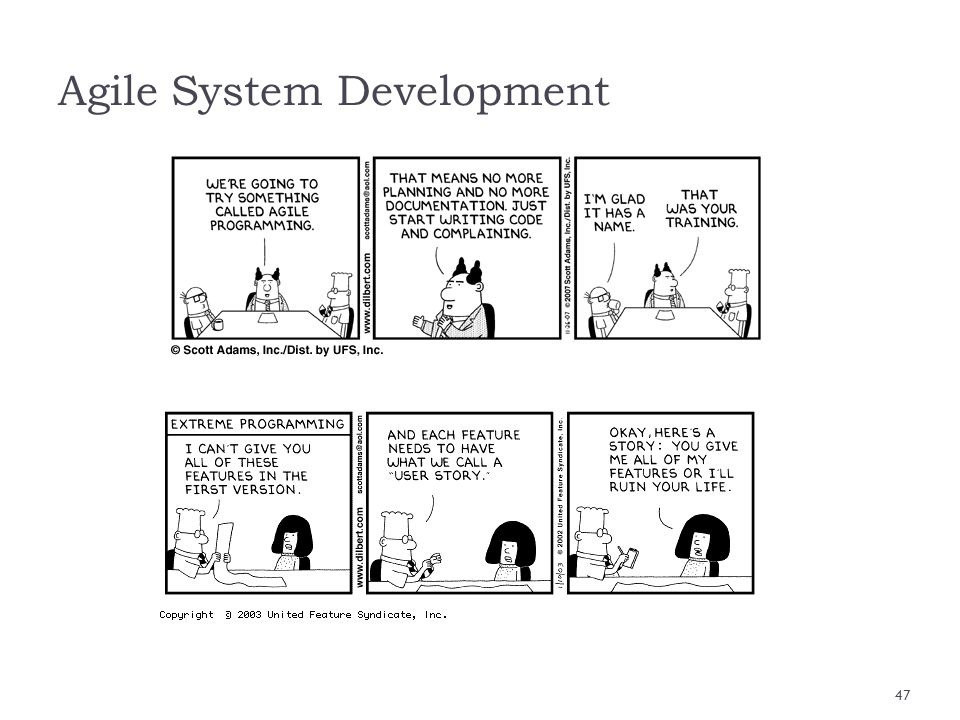 Agile System Development
