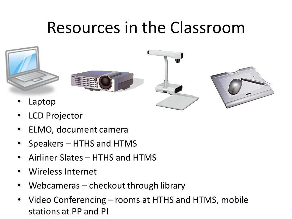 Resources in the Classroom
