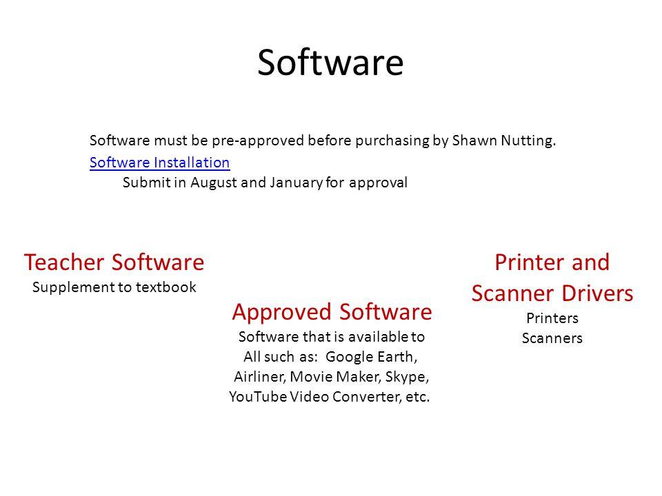 Software Teacher Software Printer and Scanner Drivers