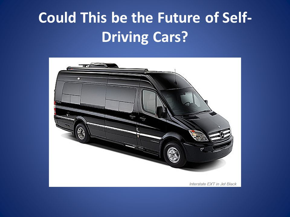 Could This be the Future of Self-Driving Cars