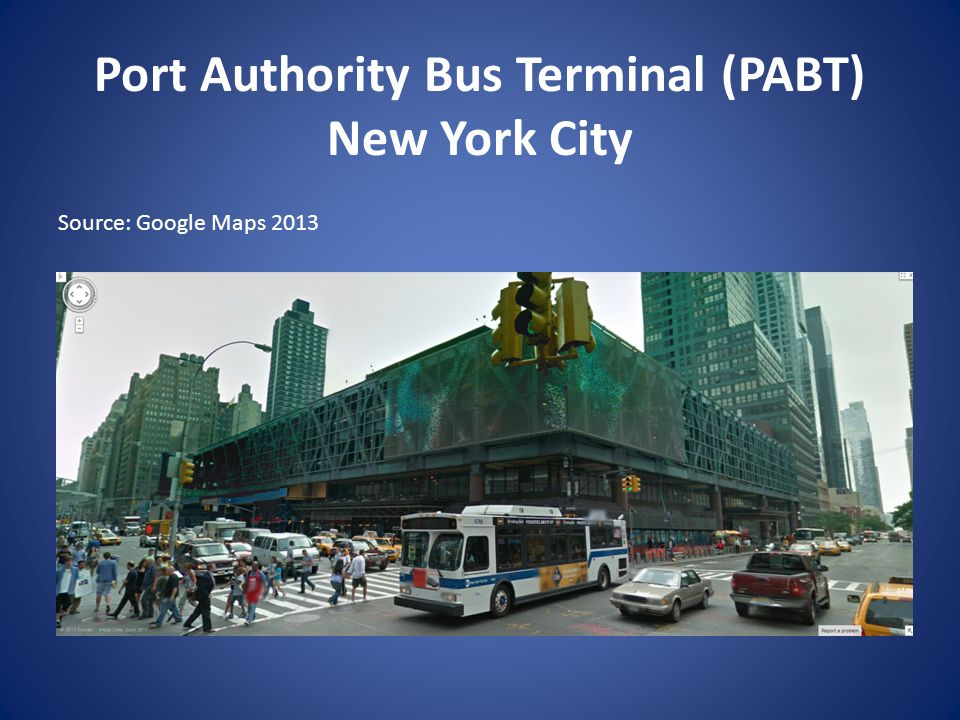 Port Authority Bus Terminal (PABT) New York City