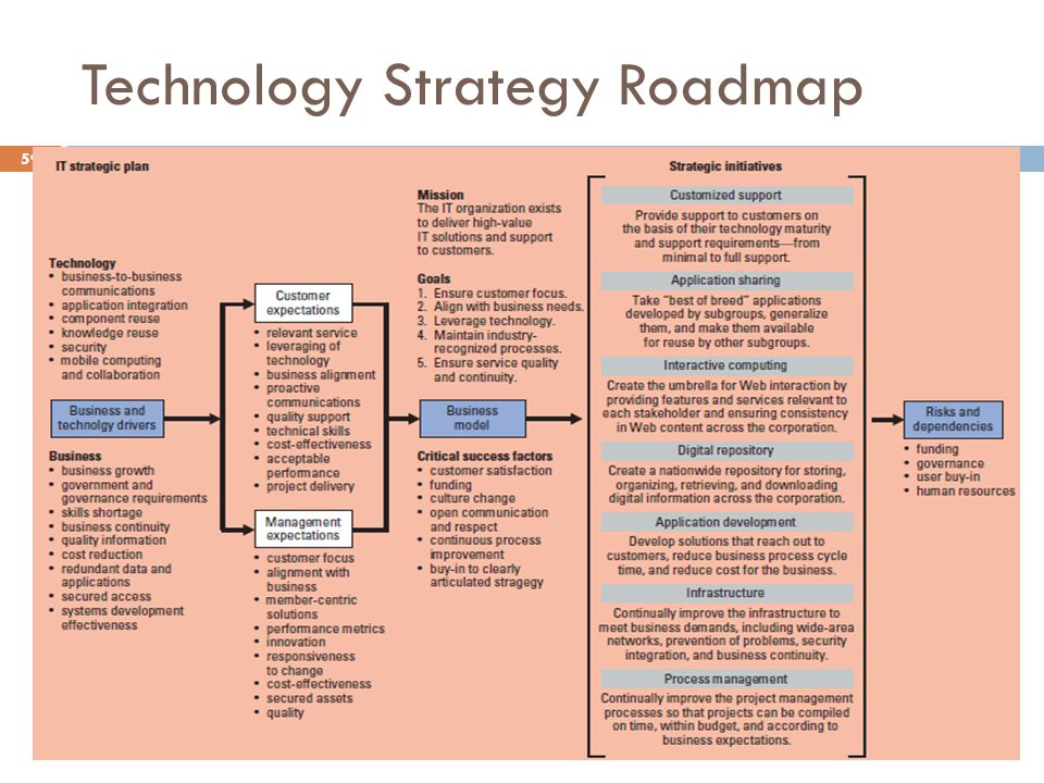 Technology Strategy Roadmap