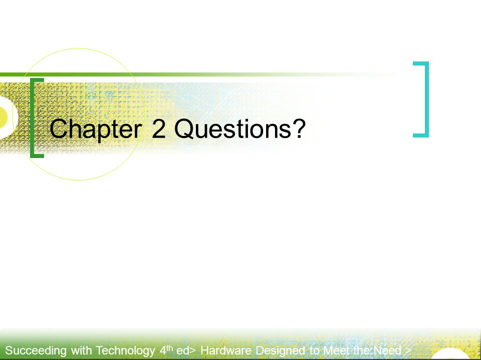 Chapter 2 Questions 51