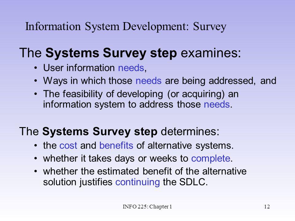 Information System Development: Survey