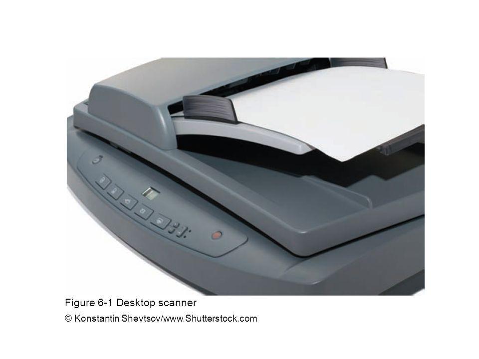 Figure 6-1 Desktop scanner