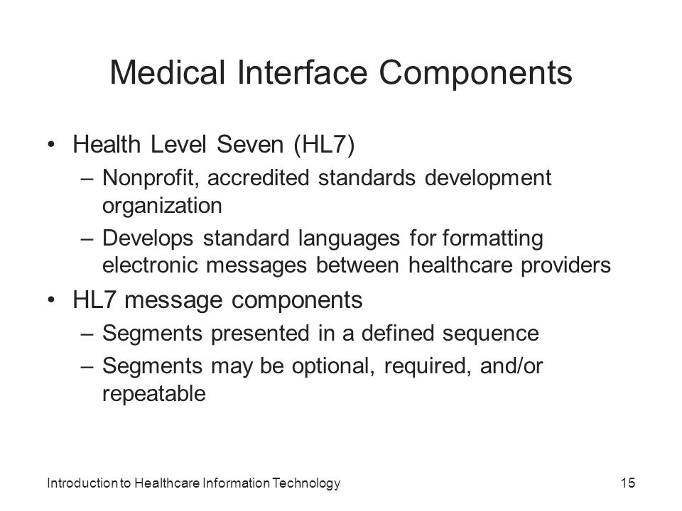Medical Interface Components