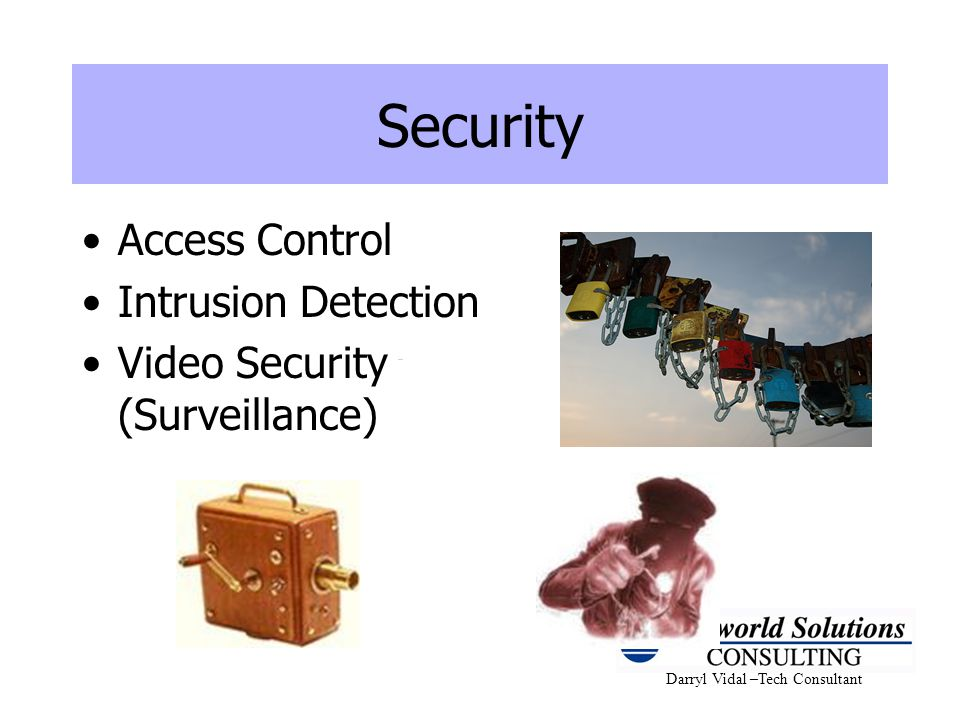 Security Access Control Intrusion Detection
