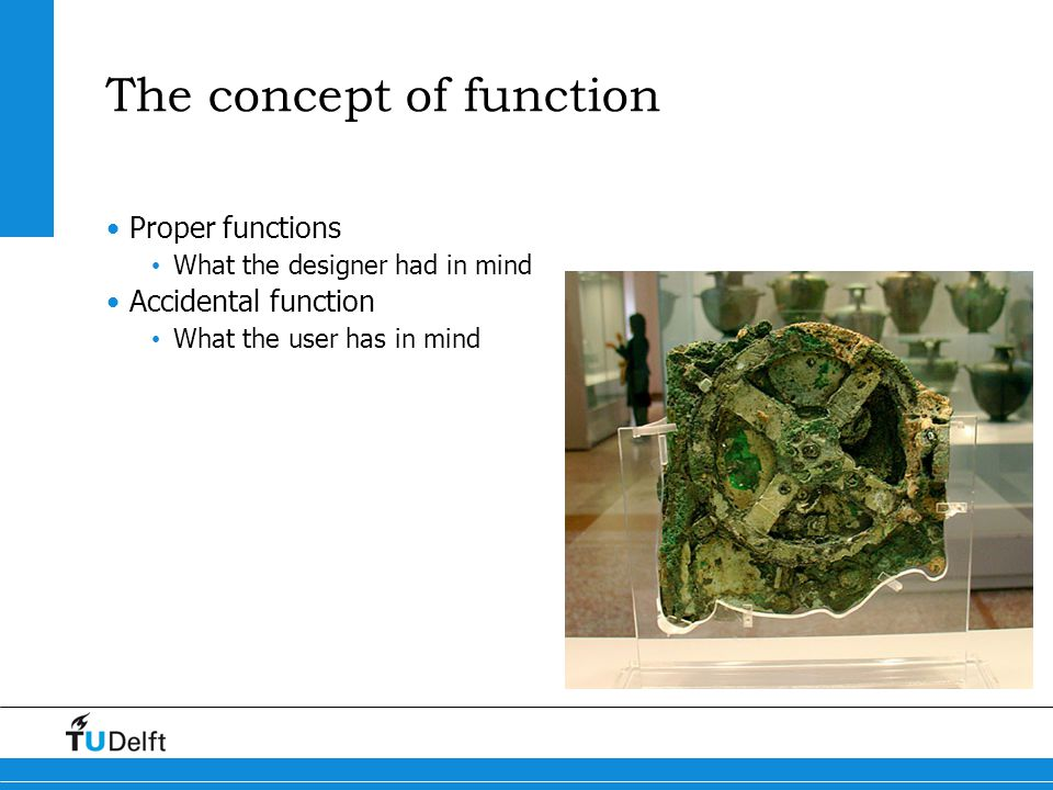 The concept of function