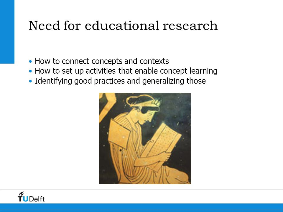 Need for educational research