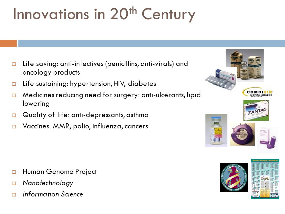 Innovations in 20th Century