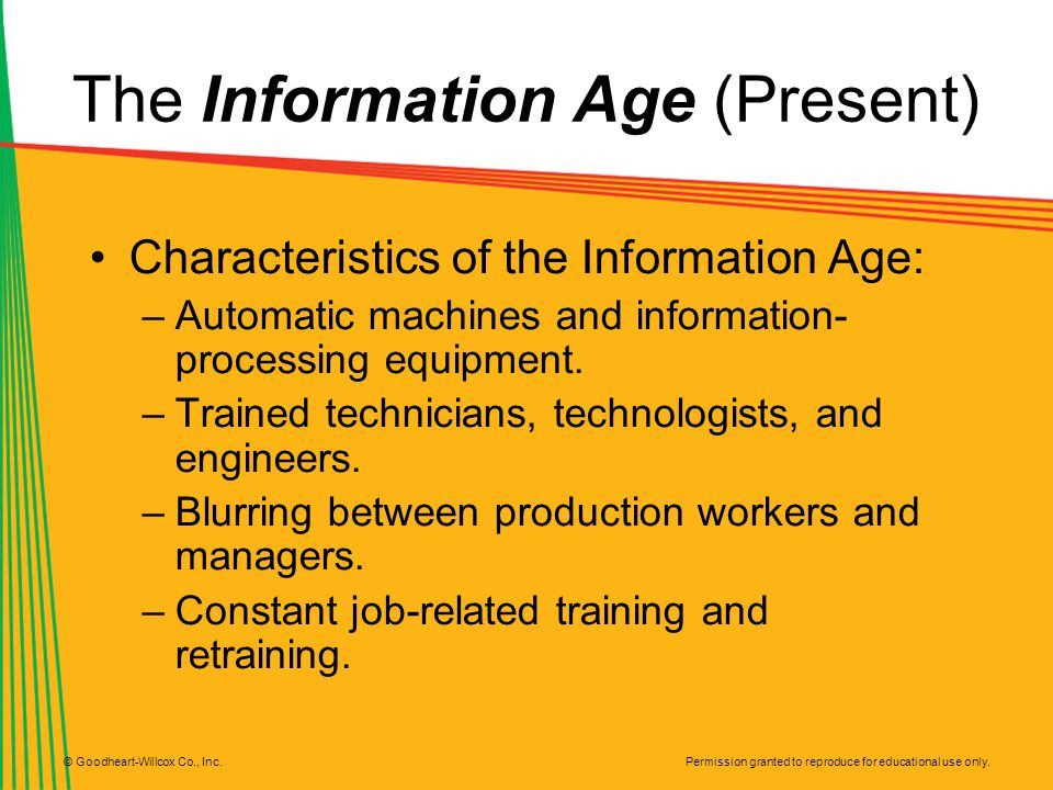 The Information Age (Present)