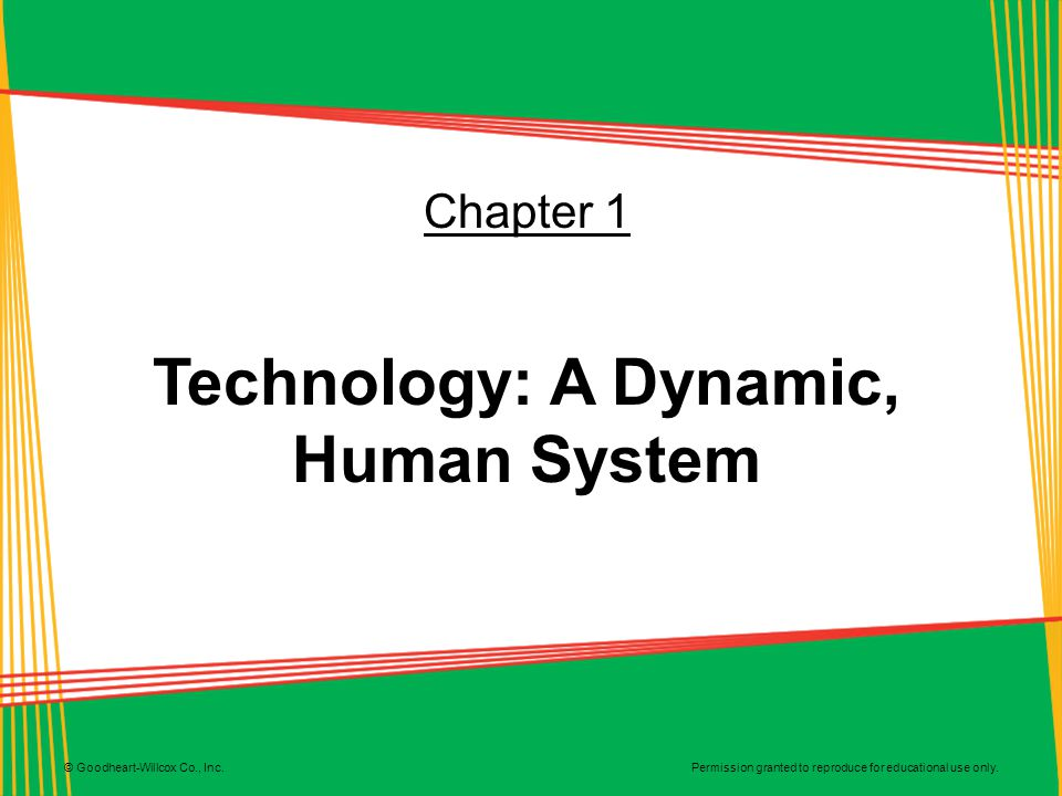 Technology: A Dynamic, Human System