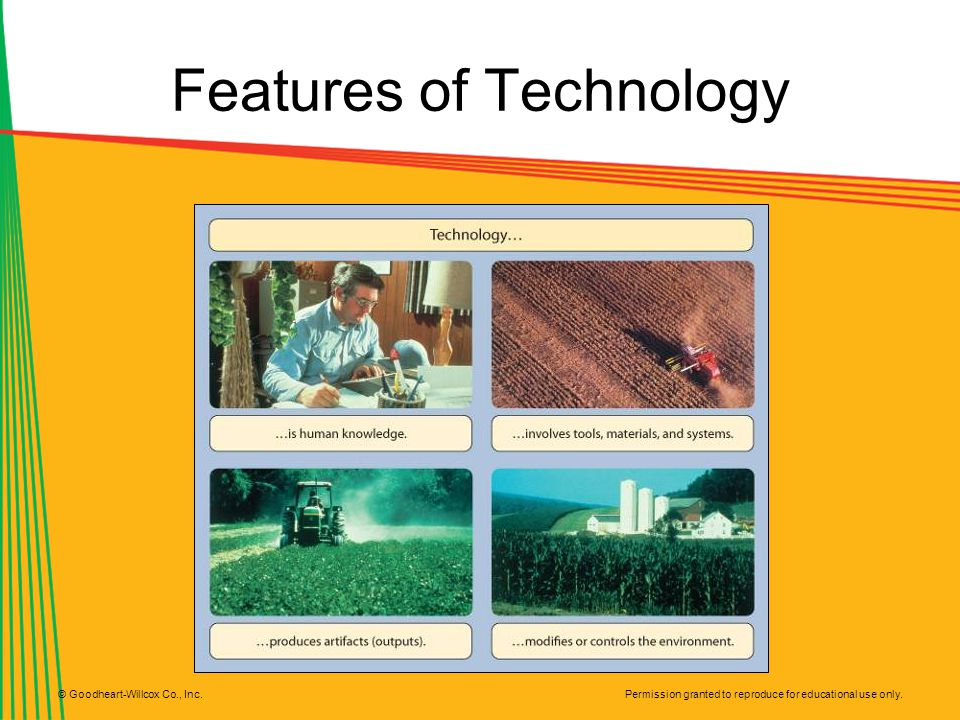 Features of Technology