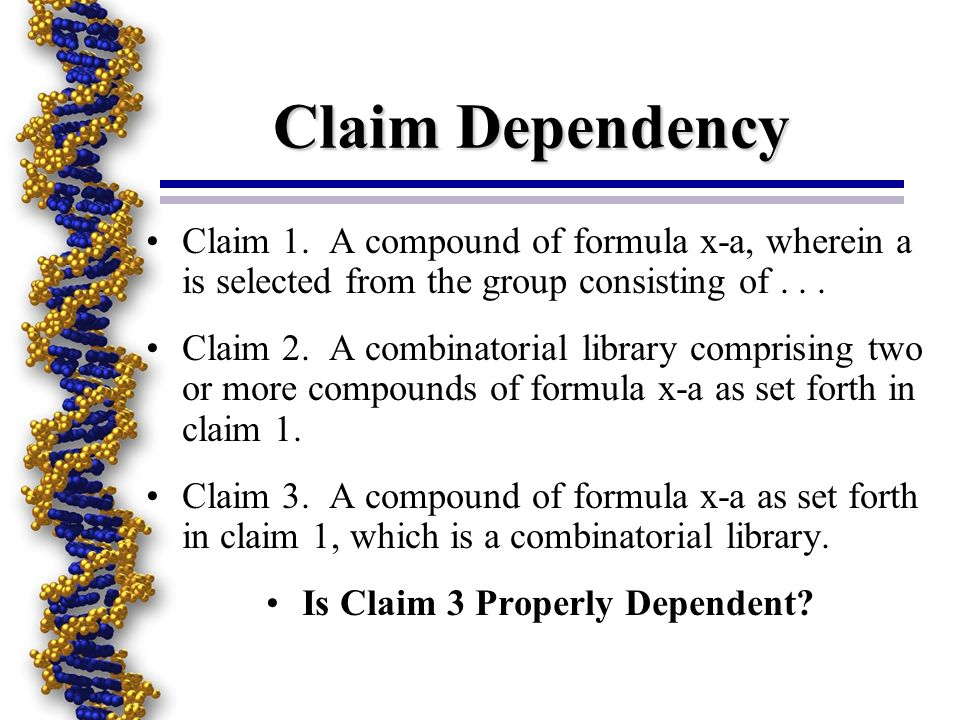 Is Claim 3 Properly Dependent