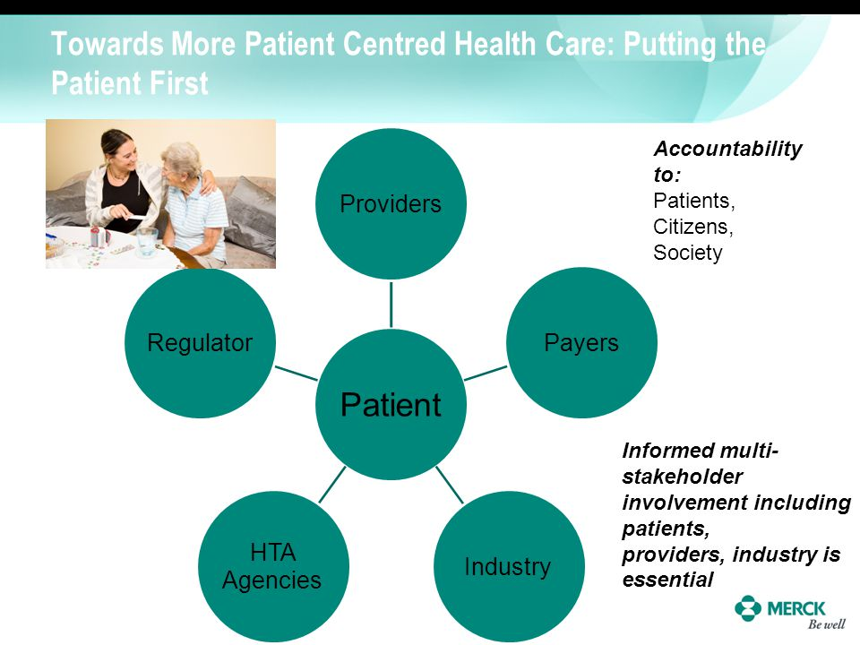 Towards More Patient Centred Health Care: Putting the Patient First