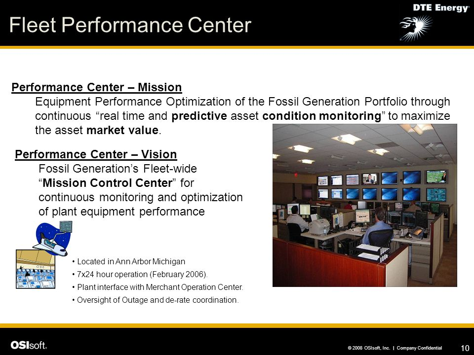 Fleet Performance Center