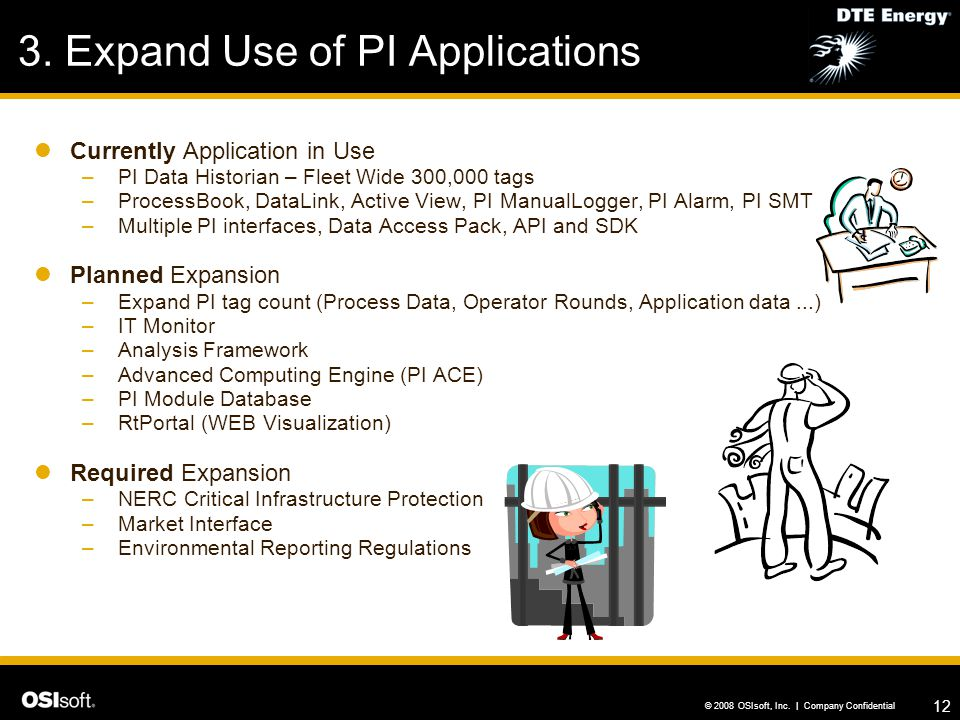 3. Expand Use of PI Applications