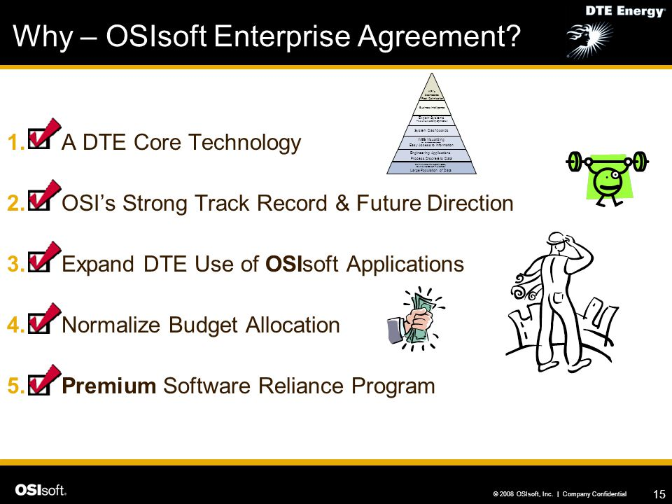 Why – OSIsoft Enterprise Agreement