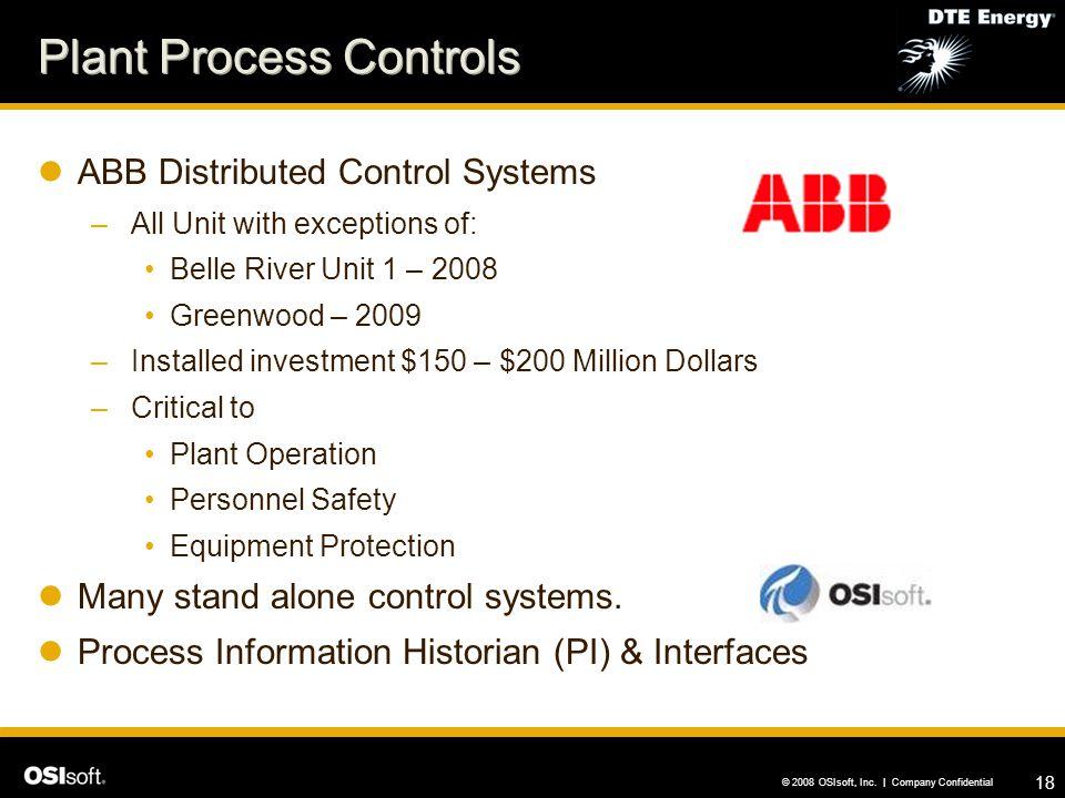 Plant Process Controls