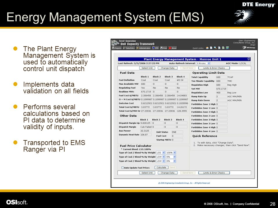 Energy Management System (EMS)