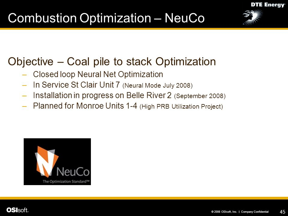 Combustion Optimization – NeuCo
